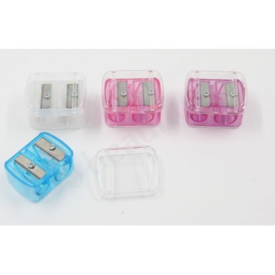 DOUBLE PENCIL SHARPENER WITH CASE