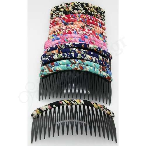 SIDE COMB WITH FABRIC