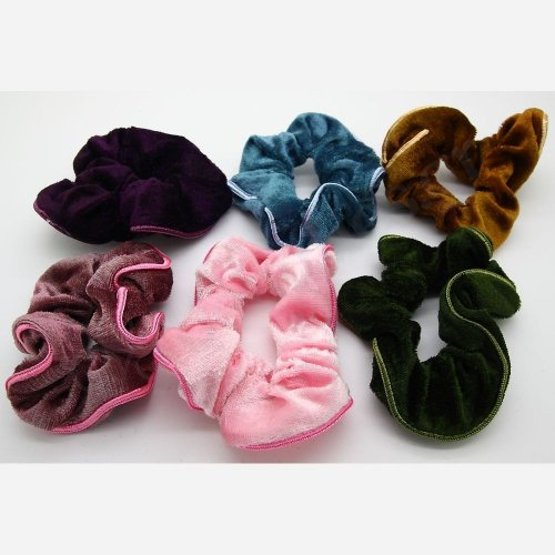 SCRUNCHIE WITH EDGING