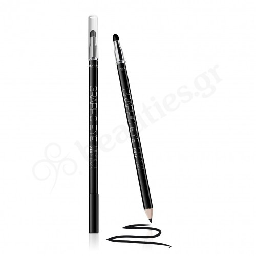 REVERS GRAPHIC EYE WOODEN EYELINER WITH A SPONGE