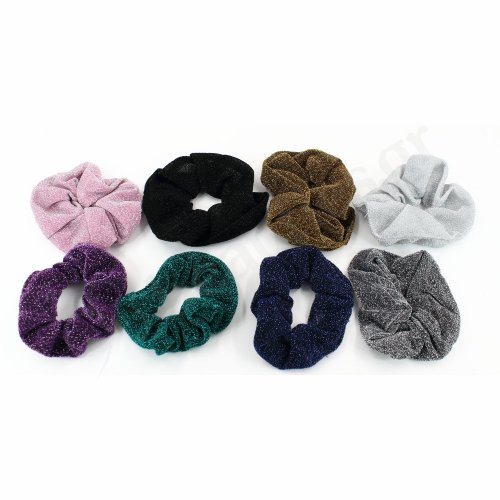 GLITTER HAIR SCRUNCHIE