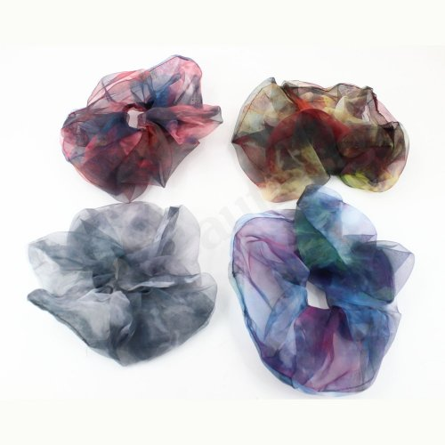 BIG ORGANZA HAIR SCRUNCHIE