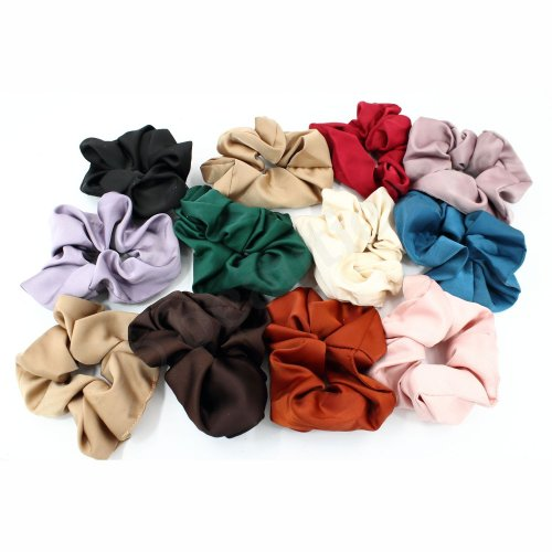 SATIN HAIR SCRUNCHIE