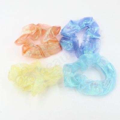 MERMAID ORGANZA HAIR SCRUNCHIE