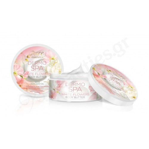 BODY BUTTER PURE ESSENCE WHITE FLOWERS 200ml